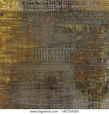 Cute colorful grunge texture or tinted vintage background with different color patterns: yellow (beige); brown; gray; red (orange); black