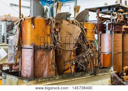 Damage Three Phase Transformer
