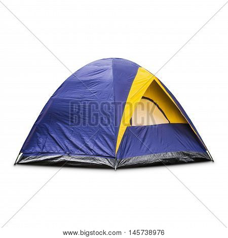 Blue Dome Tent