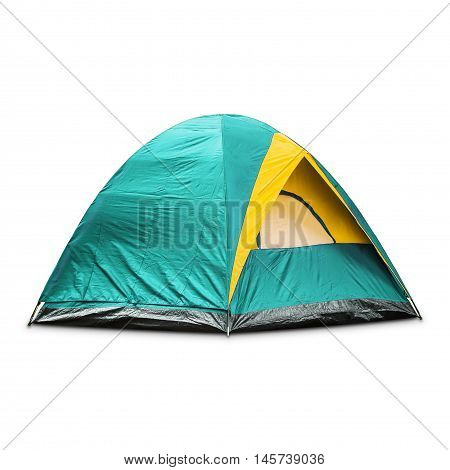 Teal Dome Tent