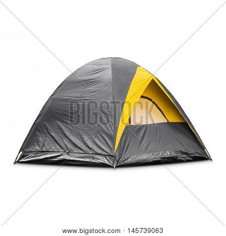 Gray Dome Tent