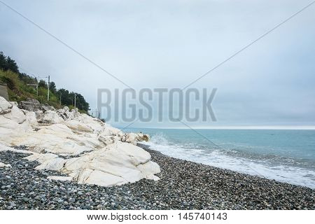 White Rocks On The Black Sea.