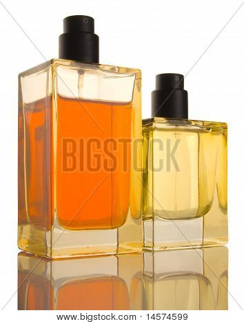 Two Perfume Bottles - Reflection, Patch