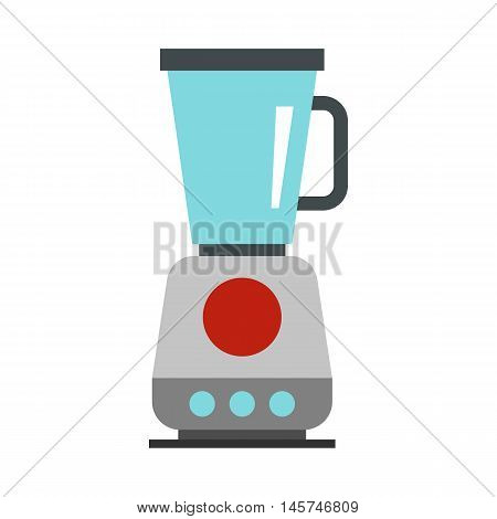 Blender icon in flat style isolated on white background. Home appliances symbol vector illustration