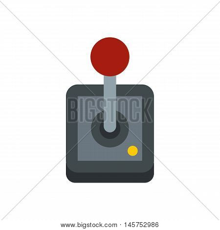 Shifting icon in flat style isolated on white background. Play symbol vector illustration