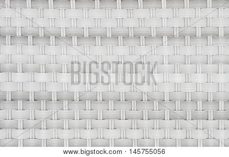 Closeup surface wood pattern at wood weave chair texture background
