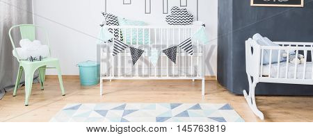 Light Toddler Room Idea