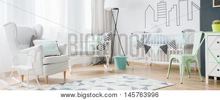 Light And Beautiful Baby Room