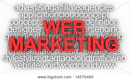 Conceito de Marketing Web