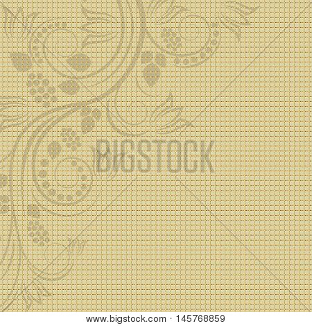 floral background with texture and copy space