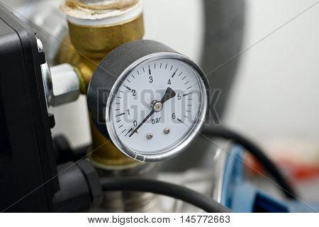 Compressor manometer