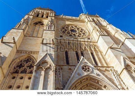 Gothic Saint Andre Cathedral, Bordeaux