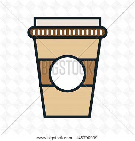 cup plastic drink icon vector illustration eps10