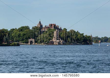Boldt Castle in the St. Lawrence Seaway