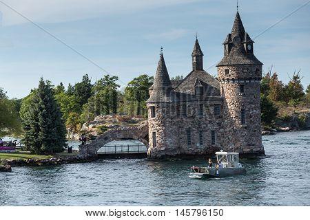 Boldt Castle on the St. Lawrence Seaway