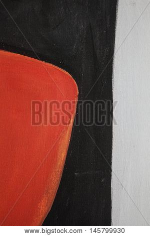Abstract art background. Oil painting on canvas. Spots of oil paint. Brushstrokes of paint. Modern art. Colorful canvas.