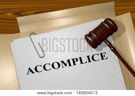 Accomplice - Legal Concept