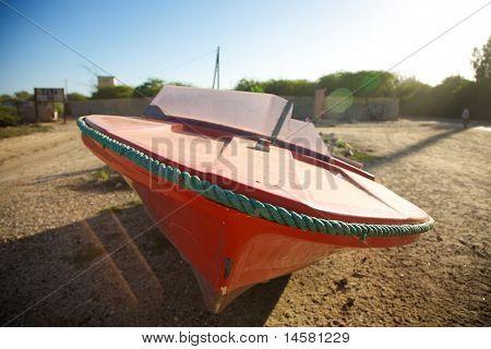 Speed Boat In Saint Louis