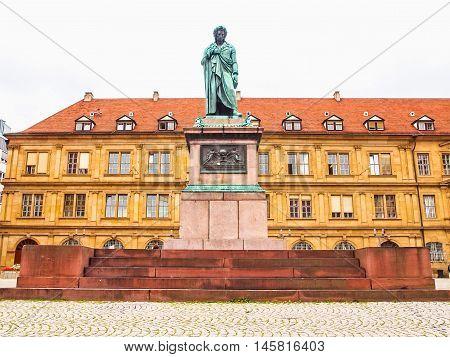 Schillerplatz, Stuttgart Hdr