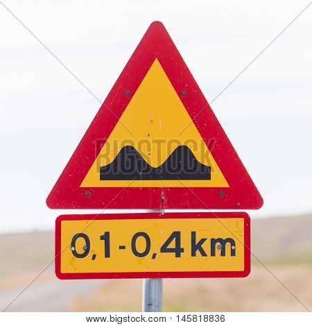 Speed Bumps Ahead - Iceland