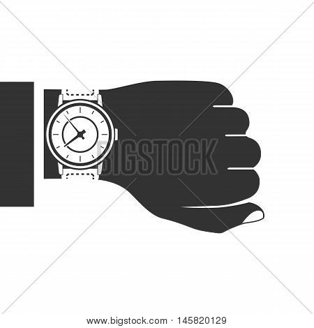 Clock Icon On Hand