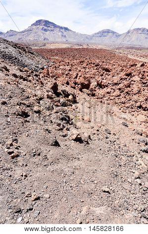 Desert Valley Landscape