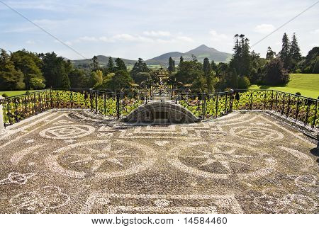 Powerscourt Mansion - Wicklow, Ireland