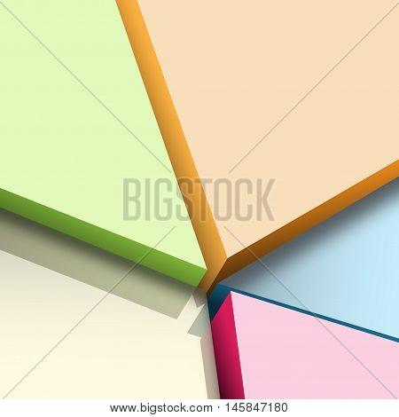 Abstract background broken floor earthquake vector illustration