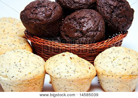 Basket Of Muffins