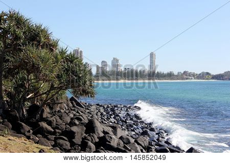 View from Burleigh Heads