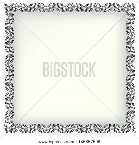 Decorative Elements In Vintage Style For Decoration Layout, Framing, For Advertising, Vector Illustr