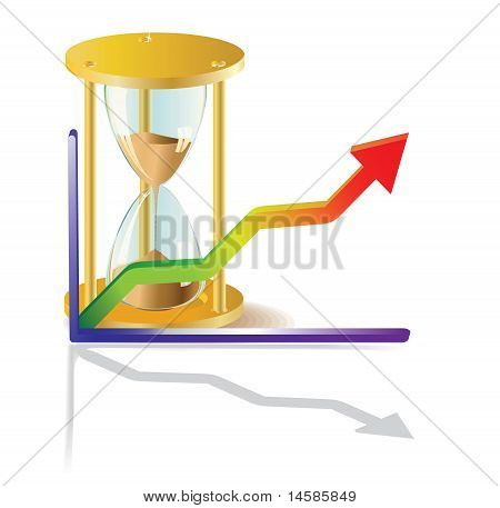 Clock Face And Graph