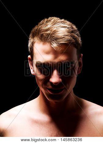 Portrait of an handsome man