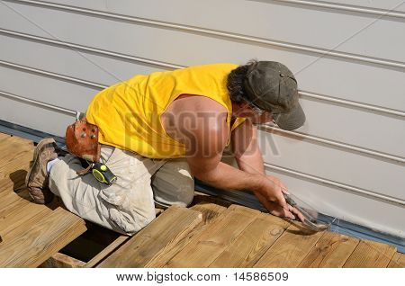 Carpenter Hammering
