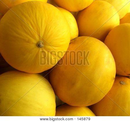 Market - Honeydew Melons