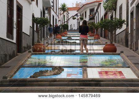 Firgas, Gran Canaria