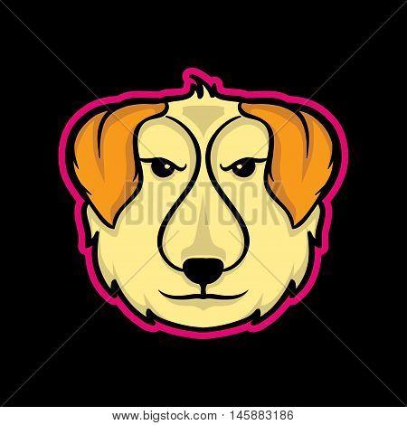 Dog Mascot, Dog Mascot Concept, Dog Icon, Dog Logo Concept