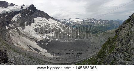 Grossglockner, Austria - great View from Kapruner Toerl
