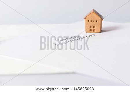House and document invesment and realestate concept