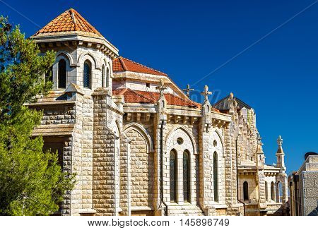 The Salesian Church of Jesus the Adolescent in Nazareth, Israel