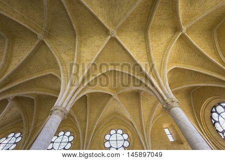 Saint Jean Des Vignes Abbey, Soissons, France