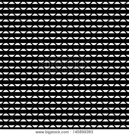 Tileable Grid / Mesh Geometric Pattern Series. Repeatable Monochrome Texture.