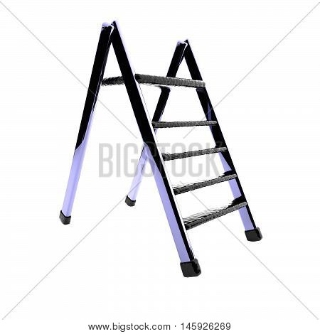 Ladder Isolated Over White Background