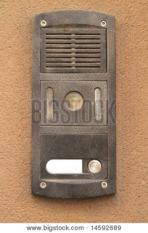 Intercom From An Apartment