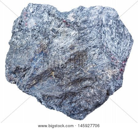 Antimony Ore Stone (stibnite, Antimonite) Isolated