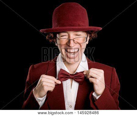 Strange Laughing Person