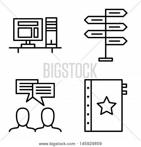 Set Of Project Management Icons On Decision Making, Idea Brainstorming And Quality Management. Proje