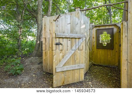 Luxury Shower Facilities at a Camping Site