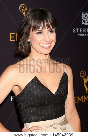 LOS ANGELES - AUG 22:  Constance Zimmer at the Television Academy's Performers Peer Group Celebration at the Montage Hotel on August 22, 2016 in Beverly Hills, CA