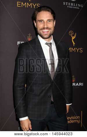 LOS ANGELES - AUG 24:  James O'Halloran at the Daytime TV Celebrates Emmy Season  at the Television Academy - Saban Media Center on August 24, 2016 in North Hollywood, CA